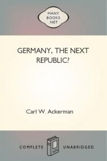 Germany, The Next Republic?